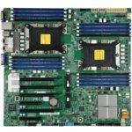 Дънна платка за сървър SuperMicro X11DPI-N, LGA3647, поддържа ECC DDR4 RDIMM, 2x Lan1000, 14x SATA 6Gb/s, Raid 0, 1, 5, 10, 5x USB 3.0, ЕATX image