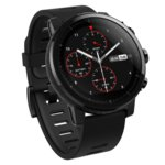 "Смарт часовник Amazfit Stratos, 1.34"" дисплей, Bluetooth 4.0, GPS, IP67, 280mAh, черен image"