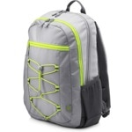 """Раница за лаптоп HP Active Backpack 1LU23AA, до 15.6"""" (39.60cm), водоустойчива, сива image"""