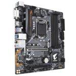 Дънна платка Gigabyte B360M AORUS GAMING 3(rev. 1.0), B360, LGA1151, DDR4, PCI-Е(HDMI)(CF), 6x SATA 6Gb/s, 2x M.2 sockets, 1x USB 3.1 Gen2, 3x USB 3.1 Gen1, microATX, RGB Fusion подсветка image