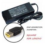 Захранване (заместител) за лаптопи Lenovo 20V/4.5A/90W, square жак image