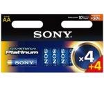 Батерии алкални Sony AM3PT-B4X4D, AA, 1.5V, LR6, 4+4 Бр image
