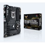 Дънна платка ASUS TUF H370-PRO GAMING, H370, LGA1151, DDR4, PCI-E (DP&HDMI)(CFX), 6x SATA 6Gb/s, 2x M.2 Socket, 2x USB 3.1 Gen 2, ATX image