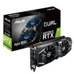 Видео карта Nvidia GeForce RTX 2080, 8GB, Asus Dual Advance, PCI-E 3.0, GDDR6, 256 bit, 3x Display Port, 1x HDMI, 1x USB Type C image