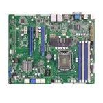 Дънна платка за сървър ASRock Rack E3C224-V4L, LGA1150, DDR3 ECC UDIMM, 4x LAN1000, 4x SATA 6Gb/s, 2x SATA 3Gb/s, 2x SATA 6Gb/s, RAID 0, 1, 5, 10, RAID 0, 1, 2x USB 3.0, ATX image