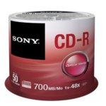 CD-R media 700MB, Sony, 48x, 50бр.  image