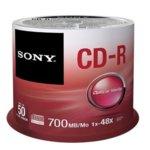 Оптичен носител CD-R media 700MB, Sony, 48x, 50бр.  image