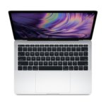 """Лаптоп Apple MacBook Pro 13 (MV992ZE/A)(сребрист), четириядрен Coffee Lake Intel Core i5-8279U 2.4/4.1GHz, 13.3"""" (33.78) cm IPS Retina дисплей, 8GB DDR4, 256GB SSD, 4x USB-C Thunderbolt, macOS Mojave, 1.37 kg image"""