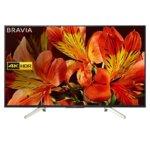 "Телевизор Sony KD-49XF8505 49""(124.46 cm), 4K HDR Edge LED Smart TV BRAVIA Triluminos, Android TV 7.0, DVB-C / DVB-T/T2 / DVB-S/S2, USB,  image"