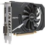 Видео карта MSI Radeon RX 550, 2GB, AMD Radeon RX 550 AERO ITX 2G OC, PCI-E 3.0, GDDR5, 128 bit, Display Port, HDMI, DVI image