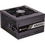Захранване Corsair VS650, 650W, Active PFC, 80 Plus efficiency White, 120mm вентилатор image