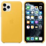 Apple Leather case iPhone 11 Pro yellow MWYA2ZM/A