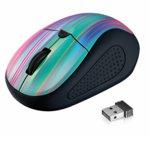 Мишка Trust Primo Wireless Mouse, оптична (1600dpi), безжична, USB, черна image