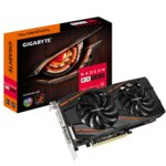 Видео карта AMD Radeon RX 580, 8GB, Gigabyte GV-RX580GAMING-8GD, PCI-E 3.0, GDDR5, 256-bit, DisplayPort, HDMI, DVI image