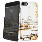 Калъф за Apple iPhone 8, поликарбонатов, iPaint Paris HC 131005, щампа image
