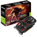 Видео карта Nvidia GeForce GTX 1050 Ti, 4GB, Asus Cerberus OC Edition, PCI-E 3.0, GDDR5, 128 bit, Display Port, HDMI, DVI image