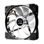 Вентилатор 120 mm, Raidmax NV-A120R3, 6-pin, 1200 rpm, RGB LED подсветка image