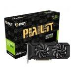 Видео карта Nvidia GeForce GTX 1060, 6GB, Palit GeForce GTX 1060 Dual, PCI-E 3.0, GDDR5, 192 bit, 3x Display Port, 1x HDMI, 1x DVI image
