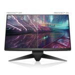 "Монитор Dell AW2518HF, 24.5"" (62.23 cm) TN панел, 240 Hz, Full HD, 1ms, 1 000:1, 400cd/m2, DisplayPort, HDMI, USB 3.0 image"