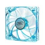 Вентилатор 120mm, Deepcool DP-XF120UBB, 3-пинов, 1300rmp, 4 blue LED image