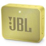 Тонколона JBL GO 2, 1.0, 3W RMS, 3.5mm jack/Bluetooth, жълта, до 5 часа работа, IPX7 image