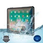 "Калъф за таблет Apple iPad 5 2017 9.7"", 4smarts Waterproof Case Active Pro NAUTILUS, ударо и водоустойчив, TPU, черен image"