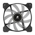 Вентилатор за кутия Corsair Air Series AF120 LED Quiet Edition High Airflow Fan, 120mm x 25mm, Single Pack, White image
