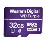 32GB microSDXC, Western Digital Purple, Class 10 UHS-I, скорост на четене 80 MB/Sec, скорост на запис 50 MB/Sec image