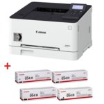 Лазерен принтер Canon i-SENSYS LBP623Cdw в комплект с тонер касети Canon CRG-054H BK/C/M/Y, цветен, 600 x 600 dpi, 21 стр/мин, LAN, Wi-Fi, A4 image