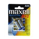 Maxell 6x AAA 1.5V