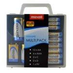 Батерии алкални Maxell ML-BA-MULTIPACK, 12AA, 6AAA, 2C, 2D, 1.9V image