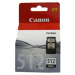 ГЛАВА CANON PIXMA MP240/ MP260/ MP480 - Black ink cartridge - P№ 2969B001/ PG-512 - заб.: 15ml. image