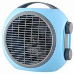 Вентилаторна печка Finlux FCH-633 BLUE, 2000W, 2 степени на мощност, Отопление/Охлаждане, термостат, защита срещу прегряване, синя image