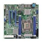 Дънна платка за сървър ASRock Rack EPC612D4U, LGA2011-3, поддържа DDR4 LRDIMM/RDIMM, 2x LAN1000, 1x IPMI LAN port, 8x SATA3 6.0Gb/s(RAID 0/1/5/10), 2x USB 3.0, uATX image