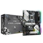 Дънна платка ASROCK Z390 Steel Legend, Z390, LGA1151, DDR4, PCI-Е (HDMI&DP)(CFX), 6x SATA 6Gb/s, 2x M.2 slot, 3x USB 3.1, 2x USB 2.0 ATX image