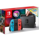 Конзола Nintendo Switch - Red & Blue + Just Dance 2020 + eShop ваучер за 35€, 32GB, червен/син image