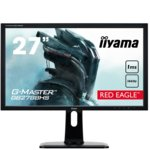 "Монитор 27""(68.58 cm) IIYAMA G-Master GB2788HS-B1, TN панел, Full HD, 1 ms, 12 000 000:1, 300 cd/m2, DisplayPort, HDMI, DVI image"