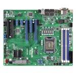 Дънна платка за сървър ASRock Rack C236 WS, LGA1151, поддържа DDR4 ECC UDIMM, 2x LAN1000, 8x SATA3 6.0Gb/s(RAID 0/1/5/10), 4x USB 3.0, ATX image