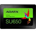 "SSD 240GB A-Data SU650, SATA 6Gb/s, 2.5""(6.35 cm), скорост на четене 520MB/s, скорост на запис 450MB/s image"