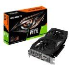 Видео карта Nvidia GeForce RTX 2060, 6GB, Gigabyte OC, PCI-E, GDDR6, 192 bit, DisplayPort, HDMI image