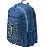 "Раница за лаптоп HP Active Backpack 1LU23AA, до 15.6"" (39.60cm), водоустойчива, синя image"