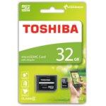 32GB MicroSD Toshiba M102 class 10, скорост на четене 15MB/s, скорост на запис 5M, с адаптер image