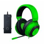 Слушалки Razer Kraken Tournament Edition, микрофон, гейминг, USB, бързи бутони, THX Spatial Audio, алуминиева рамка, зелени image