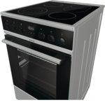 Готварска печка Gorenje IconLed EC5355XPA, клас А, 70 л. обем на фурната, 4 HiLight нагревателни зони, Готвене на повече нива едновременно, сив image