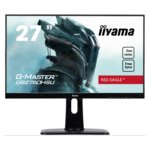 "Монитор Iiyama G-MASTER GB2760HSU-B1, 27"" (68.6 cm) TN панел, Full HD, 1ms, 80000000:1, 400 cd/m2, HDMI, DisplayPort image"