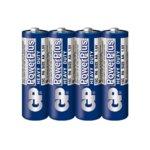 Батерия цинкова GP 15C-2S4, AA, R6, 1.5V, 4бр. image