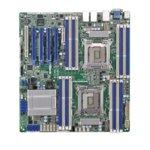 Дънна платка за сървър ASRock RACK EP2C602-4L/D16, 2x LGA2011, поддържа ECC/non-ECC unbuffered UDIMM, PCI-E 3.0 x16, Lan1000, 2 x SATA3 RAID (0,1,5,10), eATX image
