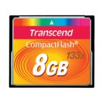 8GB CompactFlash, Transcend, 133x, скорост на четене 50MB/s, скорост на запис 20MB/s image