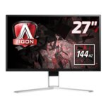 "Монитор AOC AGON AG271QX 27""(68.58 cm) TN панел, Full HD, 1ms, 50M:1, 350 cd/m2, HDMI, USB image"