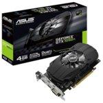 Видео карта NVIDIA GeForce GTX 1050 TI, 4GB, Asus Phoenix GTX 1050Ti, PCI-E 3.0, GDDR5, 128-bit, HMDMI, DVI, DisplayPort image